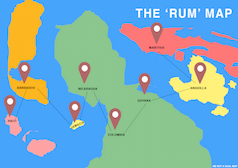 """The """"Rum"""" Map"""