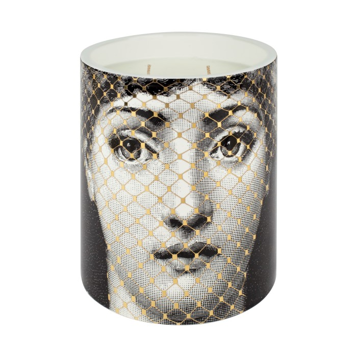 Fornasetti Profumi - Golden Burlesque - Medium Scented Candle Front (Custom)