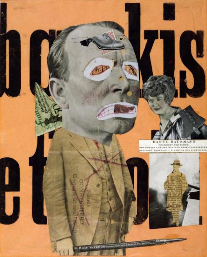 The Art Critic 1919-20 by Raoul Hausmann 1886-1971