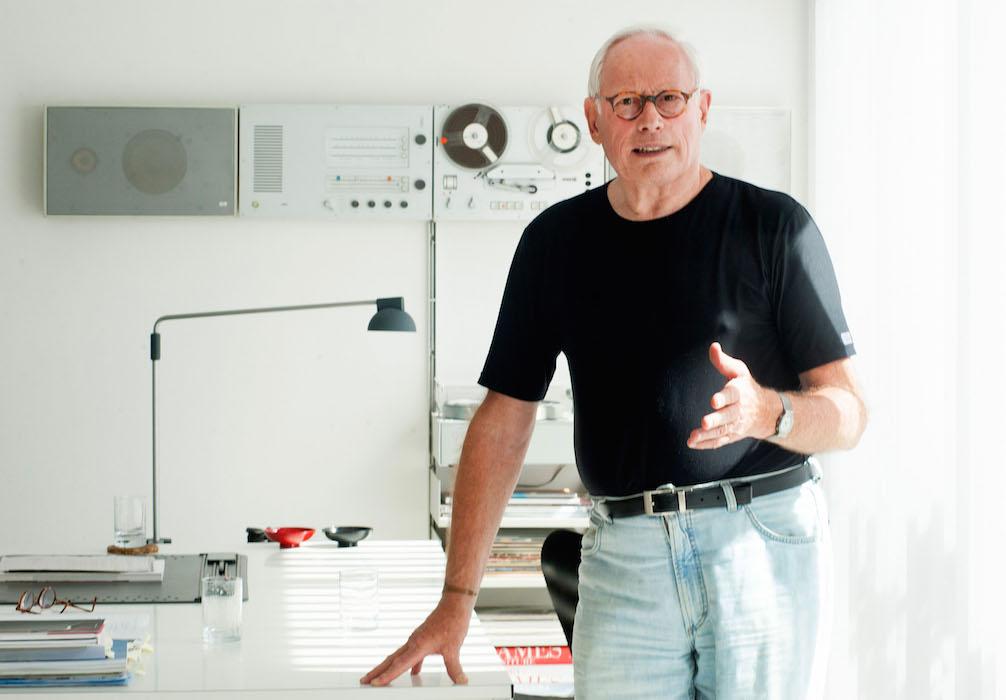 Hausbesuch bei Dieter Rams -  Der Designer hat nicht nur sein Haus selbst geplant, sondern auch seine Möbel und andere Einrichtungsgegenstände  entworfen