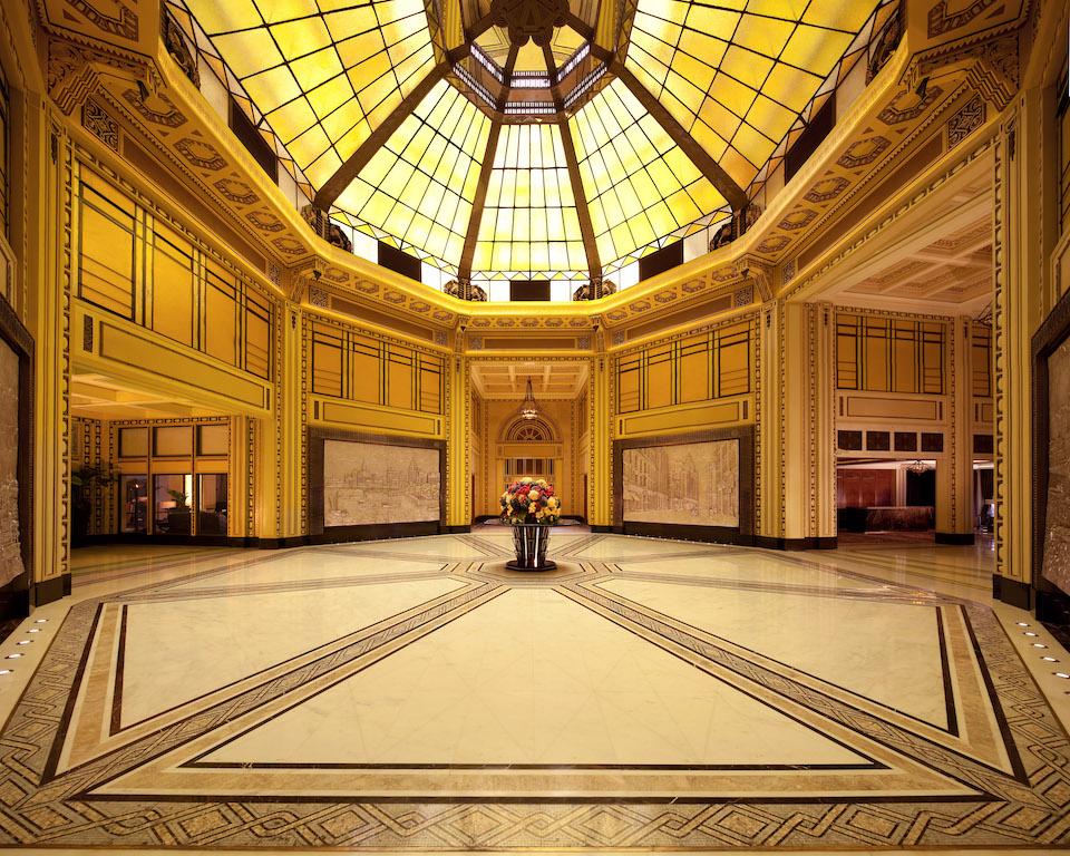 Peace Hotel - lobby atrium - Copy