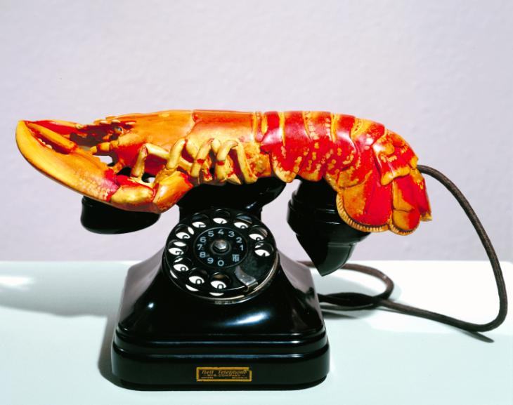 Lobster Telephone 1936 by Salvador Dal? 1904-1989