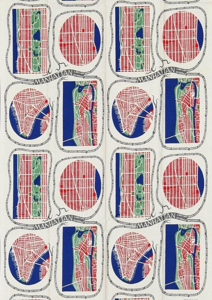 4. Josef Frank, Manhatten, 1943-45©Svenskt Tenn
