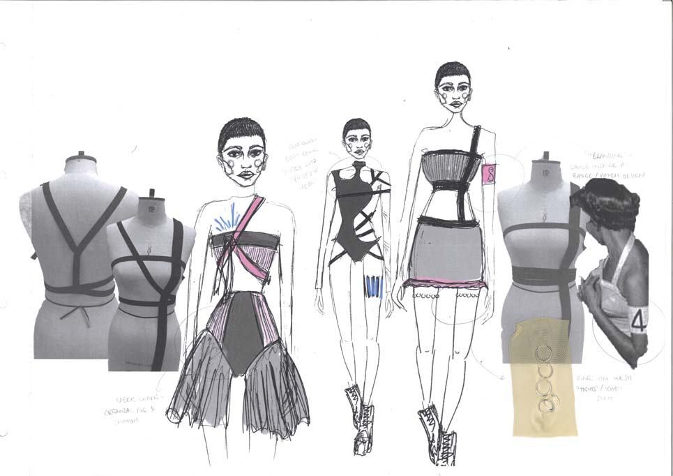 Elina Pagett-Birmingham City, Fashion Design