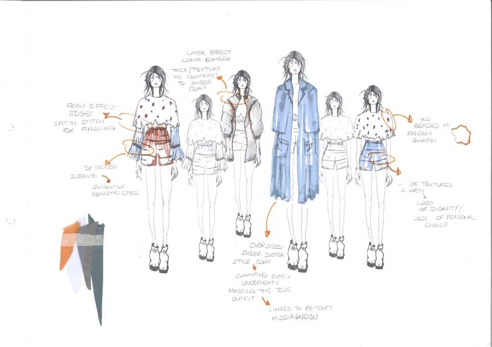 Elizabeth O'connor-Birmingham City, Fashion Design