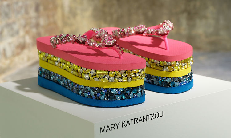 Maria Kastani Hosts The Media Launch Of The Havaianas Art Auction In Aid Of Women For Women
