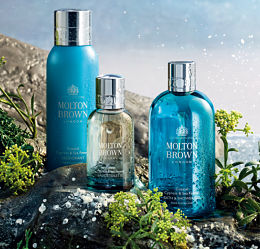 Molton Brown's new perfume 'Coastal Cypress & Sea Fennel'