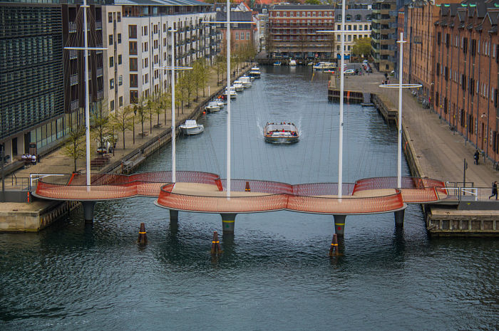 Cirkelbroen Bridge, Copehagen, Denmark - Susanne Nilsson_opt