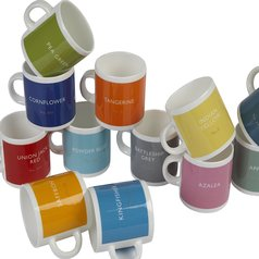 Lush; Enjoy a Colourful Cuppa with British Standard Colour Mugs!