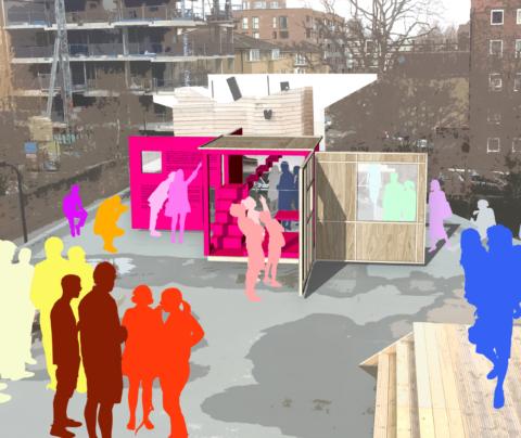 Solid; 'Rubino Box' – Antepavilion