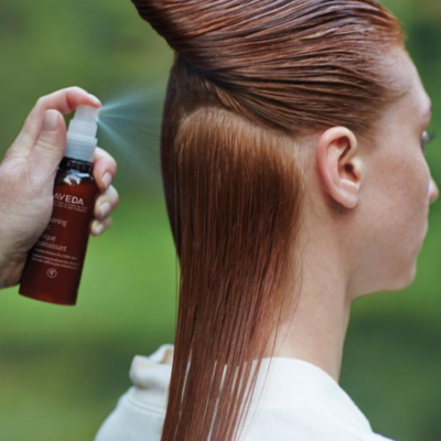 Solid; Post-Summer Hair Care with Aveda