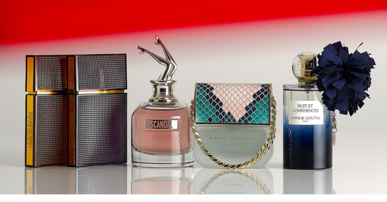 Bottled perfumes