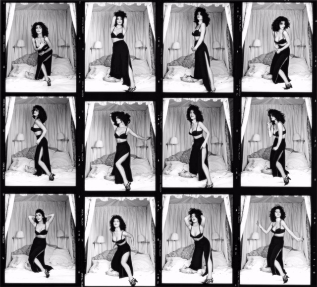 Catherine Zeta Jones , Dancing at teh Dorchester Hotel, 1992