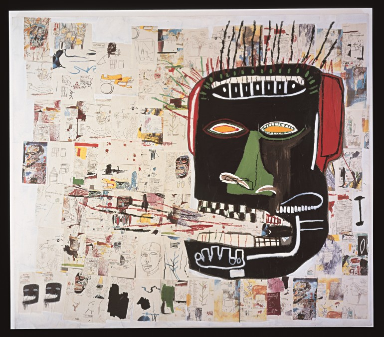 6. Jean-Michel Basquiat, Glenn, 1984 Courtesy Private Collection (1)