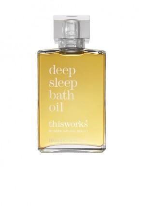 deep sleep bath oil -RRP £80.00