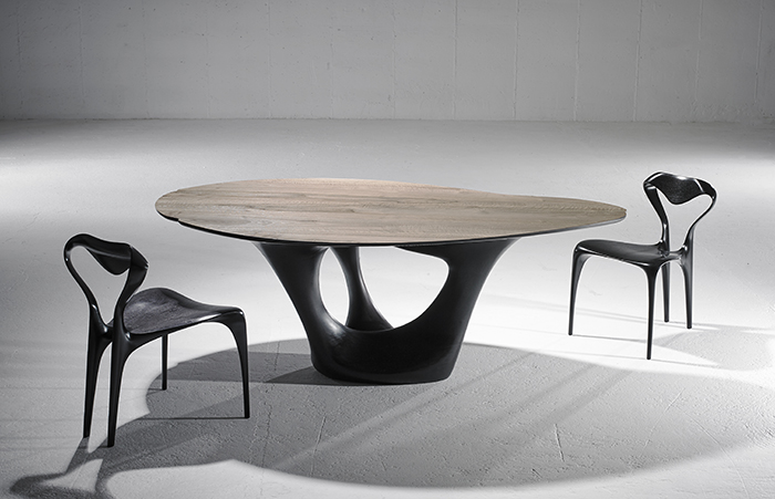 4. Joseph Walsh Erosion Table VI & Enignum Chairs VIII 2017