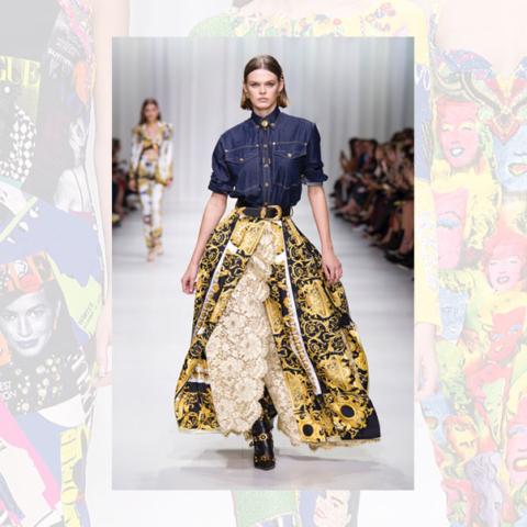 News; Milan – Versace SS18