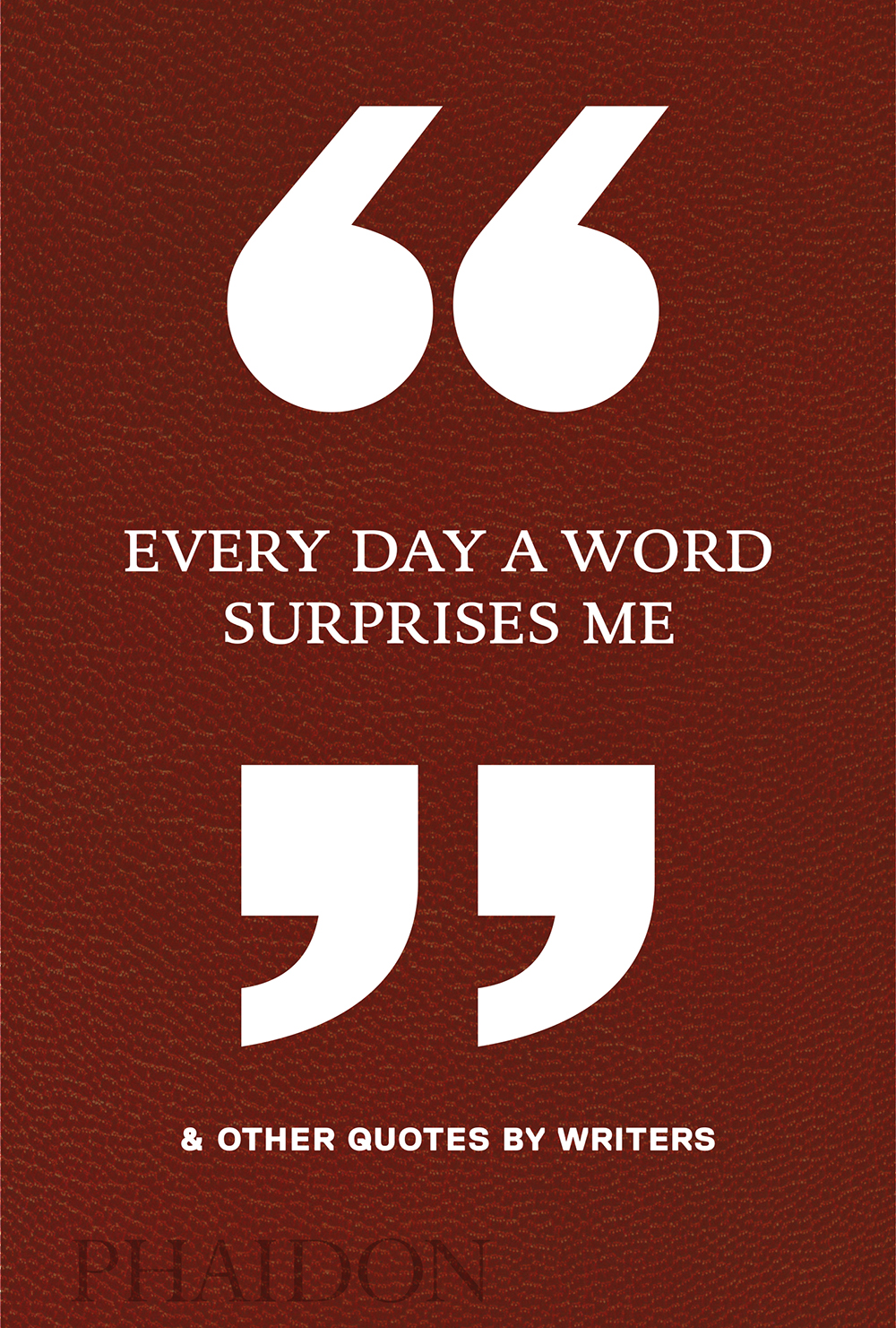 Every Day A Word Surprises Me 2D