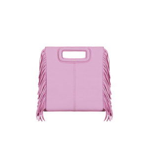 11. Maje Mini M Fringe Bag
