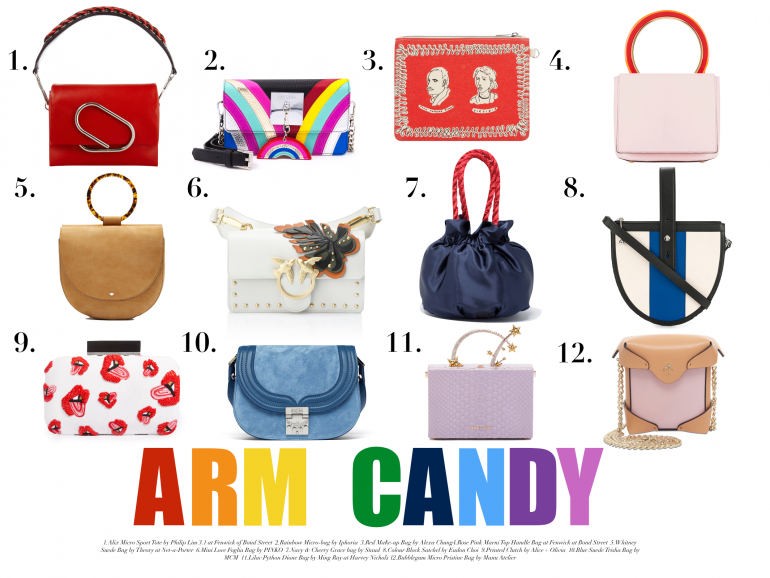 Arm candy bags