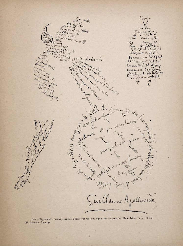 Guillaume_Apollinaire,_Poème_Calligramme