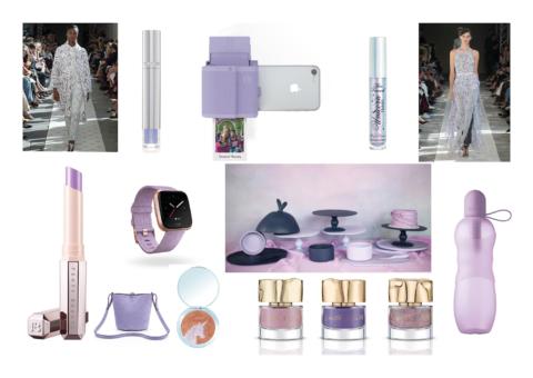 Frame; Tickle Me Lavender