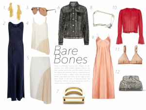 Barebones; sheer lovely