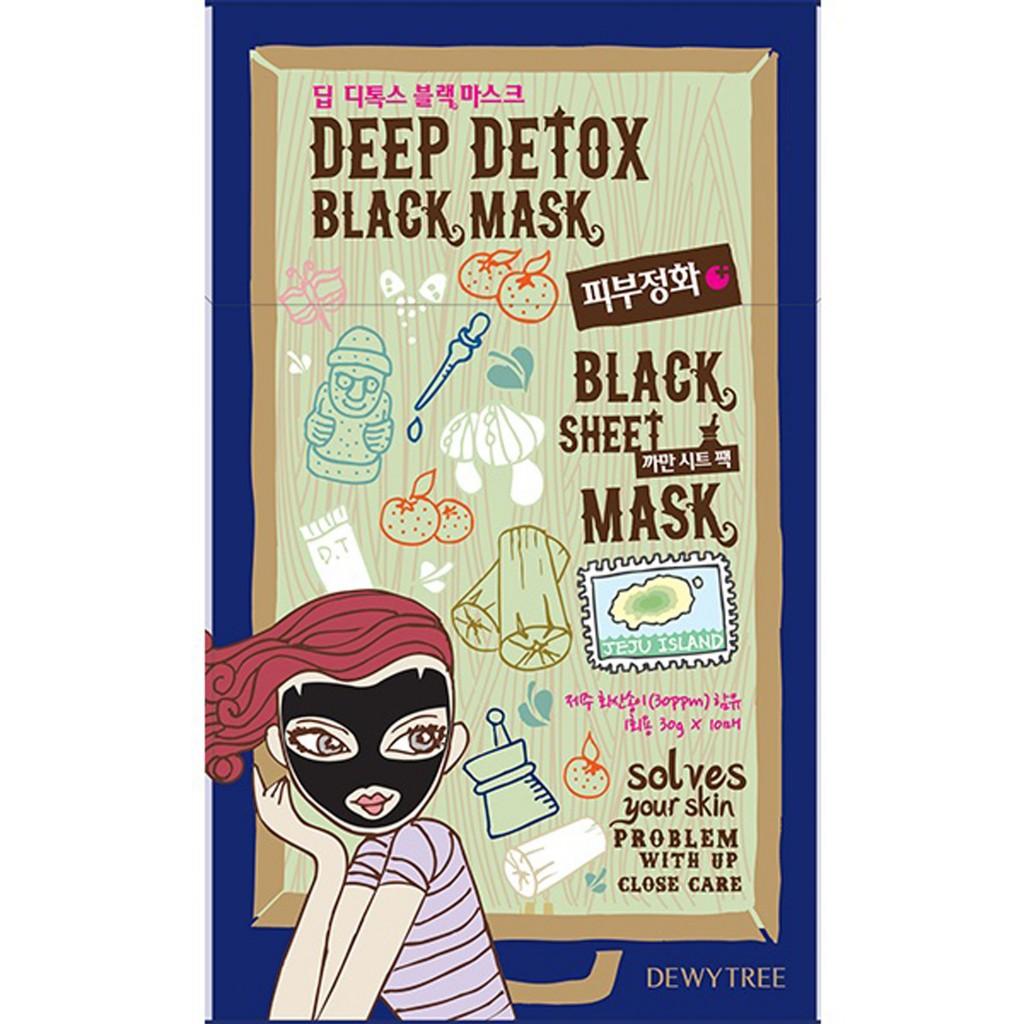 DEEP DETOX BLACK MASK_10P BOX_