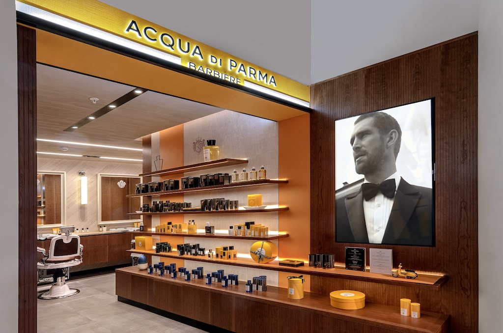 Acqua di Parma Barbiere at Selfridges (1)