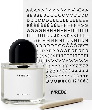Byredo Unnamed, Letters, Pencil