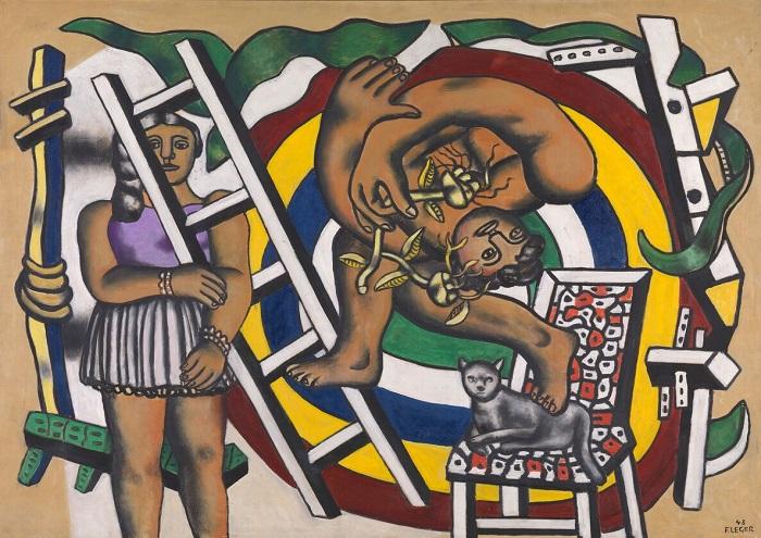 Fernand Léger Acrobats