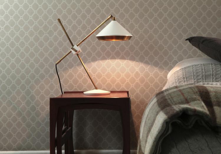 Bert Frank- shear table lamp