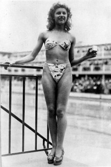 first bikini