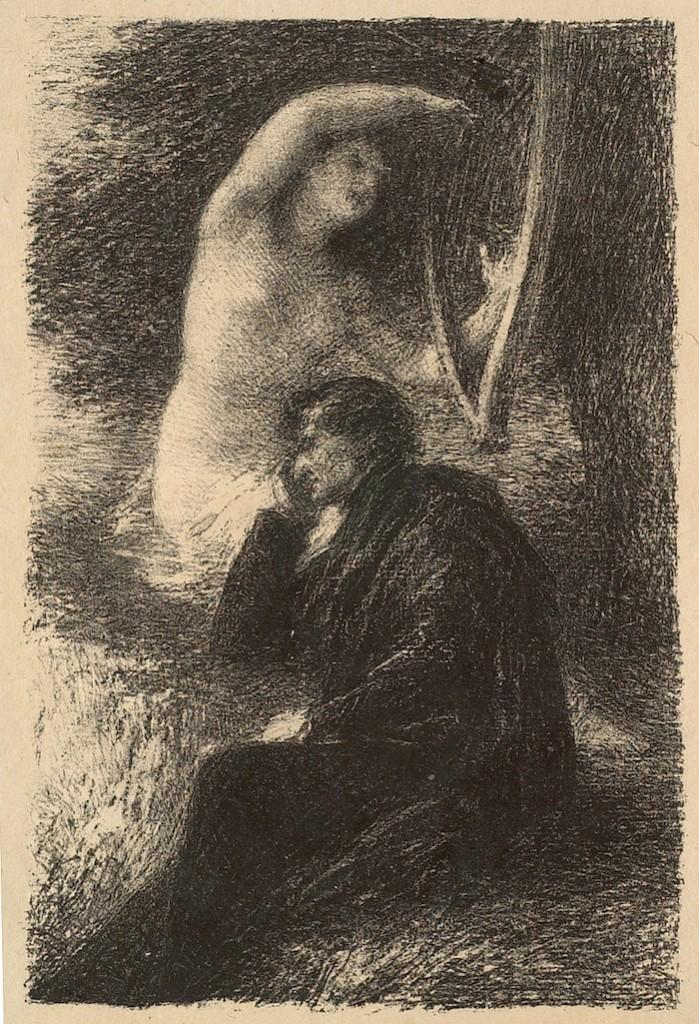 Lélio: La Harpe Éolienne, Henri Fantin-Latour