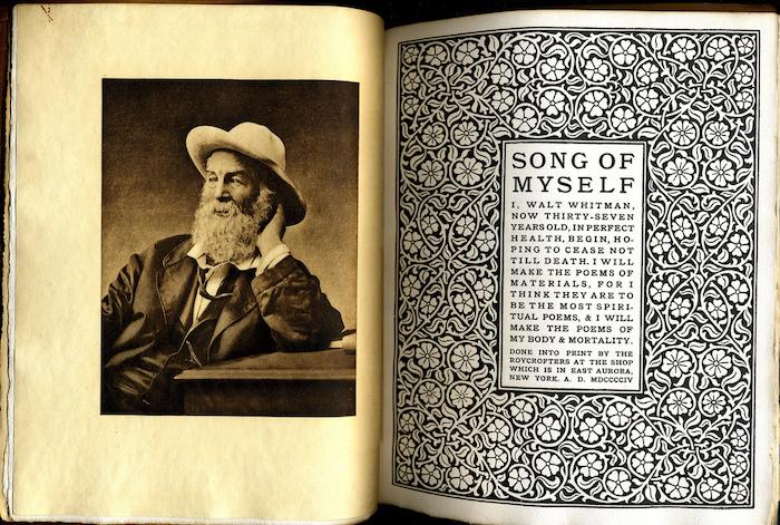 Walt Whitman, Song of Myself