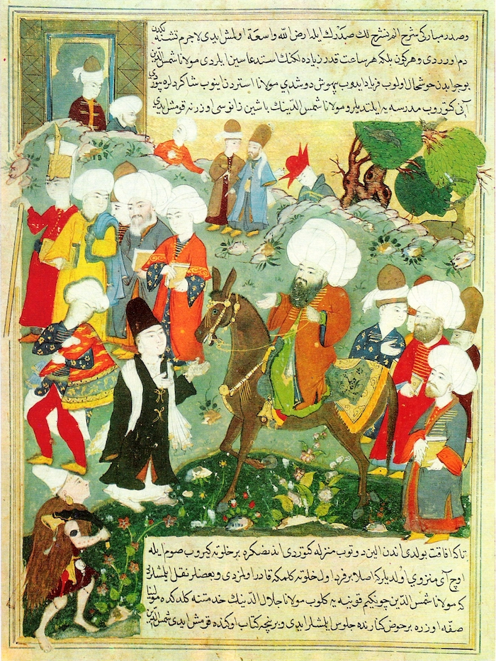 Meeting of Jalal a-Din Rumi and Molla Shams Al-Din