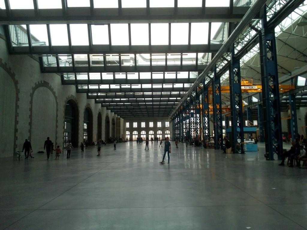 The inside of the former workshops, credits: Dylan Stéphan