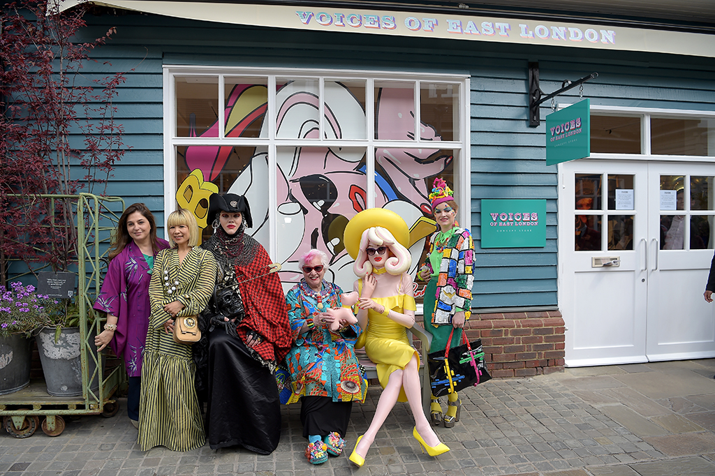 Voices Of East London Concept Store At Bicester Village