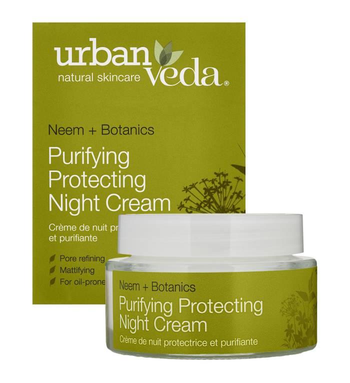 Urban Veda Purifying Night Cream Box Jar