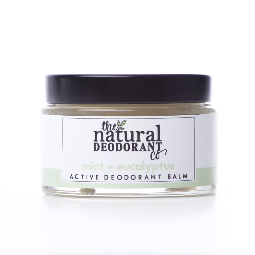 The Natural Deodorant Co - Active Balm - Mint & Eucalyptus