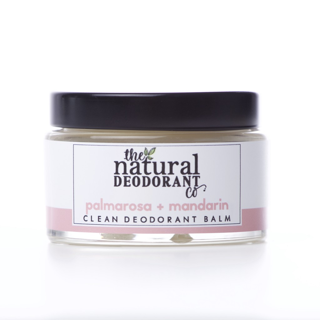 The Natural Deodorant Co - Clean Balm - Palmarosa & Mandarin