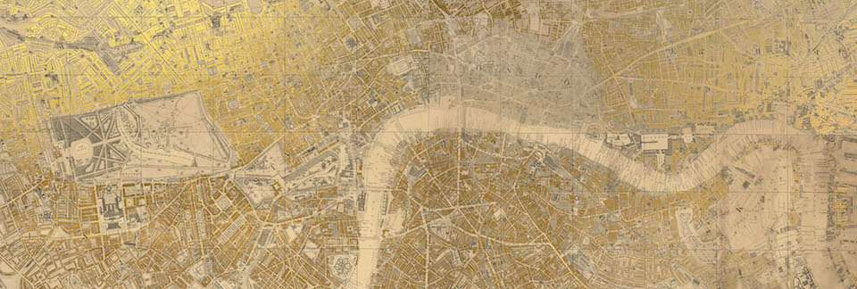 Ewan Eason Sacred City London - 1810 x 610 mm artwork size inclusive of 5mm bleed