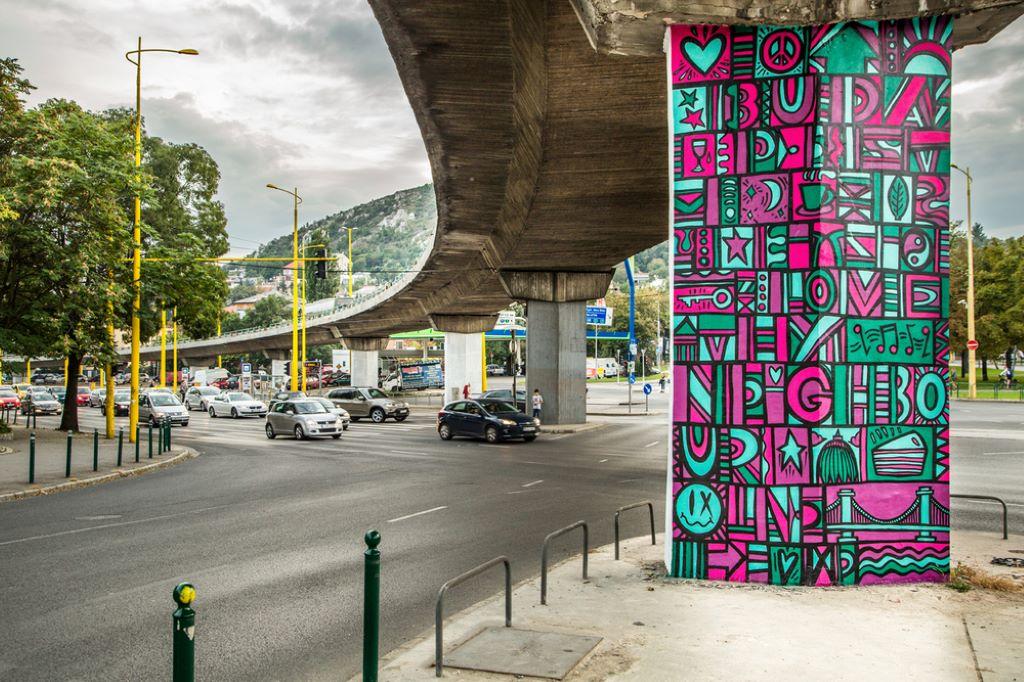 Luke Embden (Budapest mural)