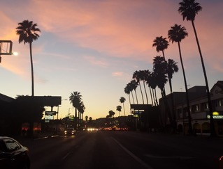 LA Sunset By Nick Steward