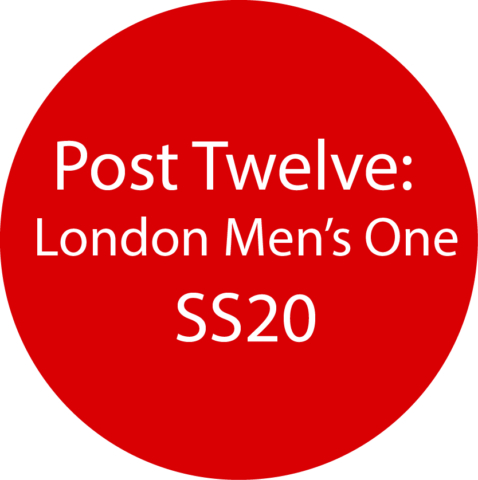 London Men's 1  SS20
