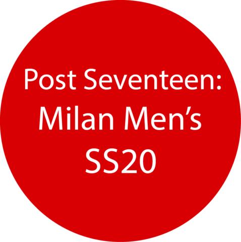 Milan Men's SS20