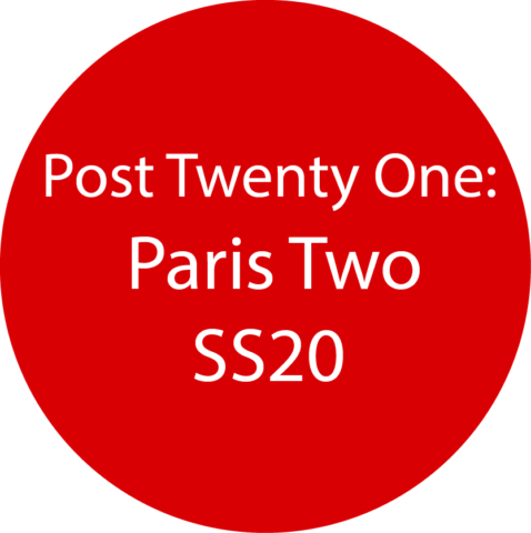 Paris 2 SS20