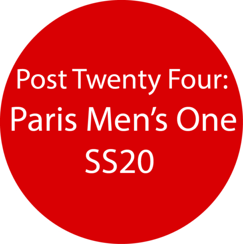 Paris Men's 1  SS20