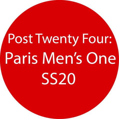 Paris Men's 1  SS20