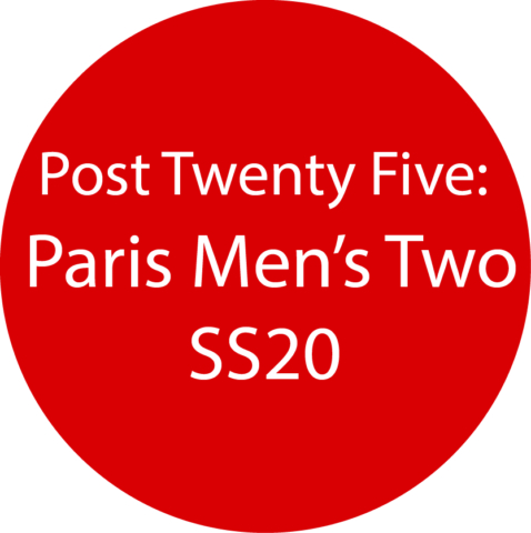 Paris Men's 2 SS20